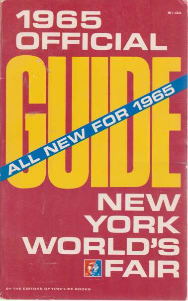 Image for 1965 OFFICIAL GUIDE NEW YORK WORLD'S FAIR All New for 1965
