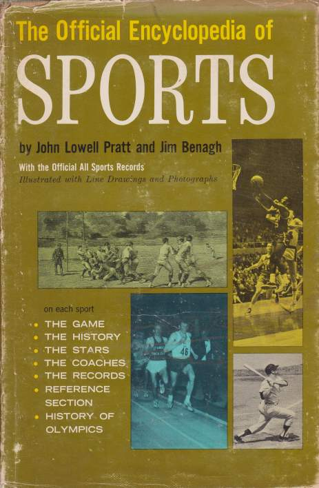 Image for THE OFFICIAL ENCYCLOPEDIA OF SPORTS
