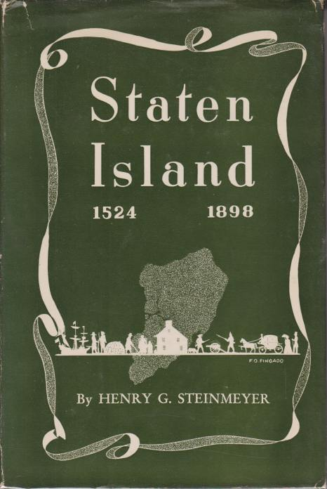 Image for STATEN ISLAND 1524 - 1898