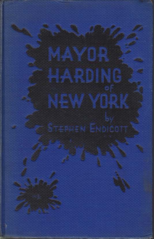 Image for MAYOR HARDING OF NEW YORK