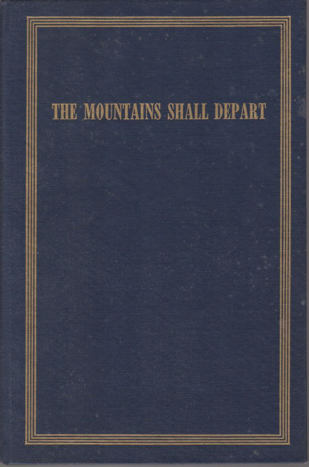 Image for THE MOUNTAINS SHALL DEPART