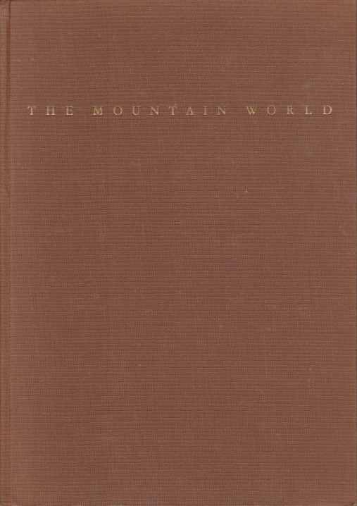 Image for THE MOUNTAIN WORLD 1960/61