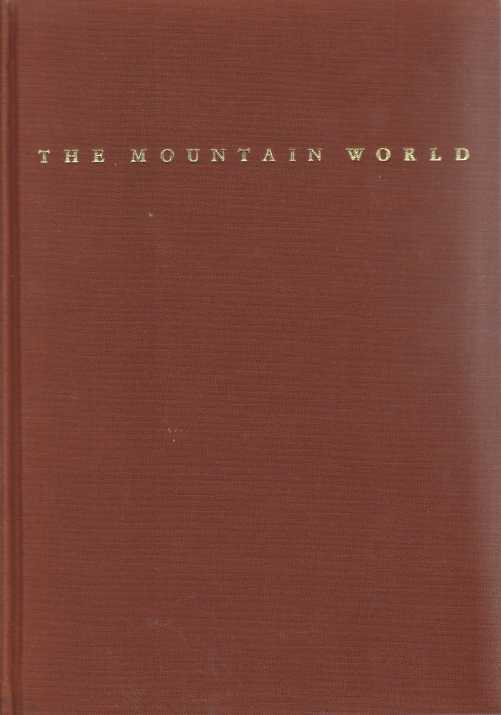 Image for THE MOUNTAIN WORLD 1962/63