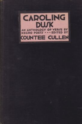 Image for CAROLING DUSK An Anthology of Verse by Negro Poets