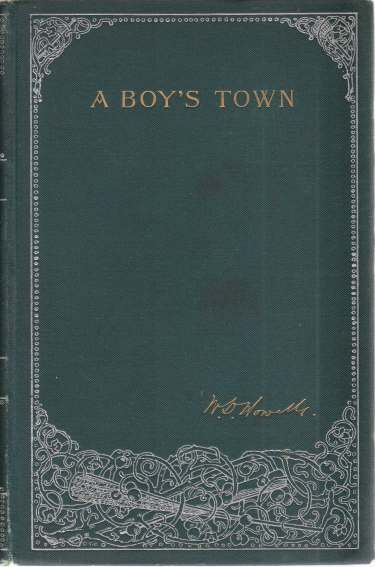 "Image for A BOY'S TOWN Described for ""Harper's Young People"""