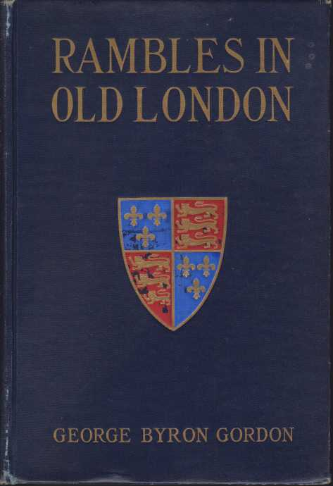 Image for RAMBLES IN OLD LONDON