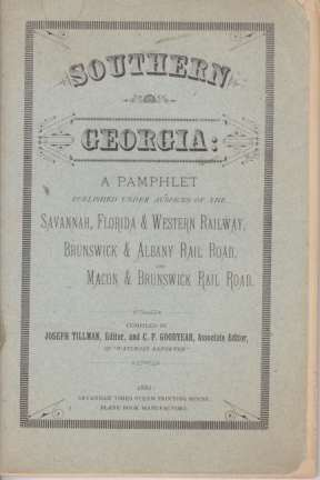Image for SOUTHERN GEORGIA A Pamphlet