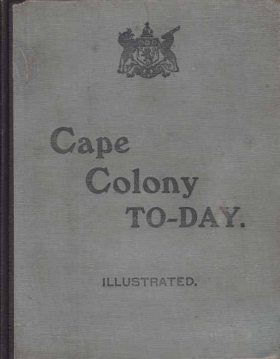 Image for CAPE COLONY TO-DAY
