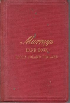 Image for HANDBOOK FOR TRAVELLERS IN RUSSIA, POLAND, AND FINLAND