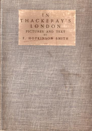 Image for IN THACKERAY'S LONDON