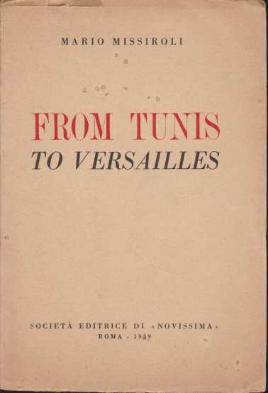 Image for FROM TUNIS TO VERSAILLES