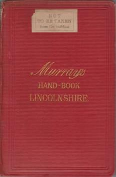 Image for HANDBOOK FOR LINCOLNSHIRE