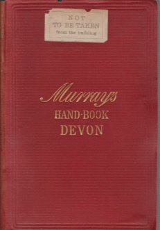 Image for A HANDBOOK FOR TRAVELLERS IN DEVON