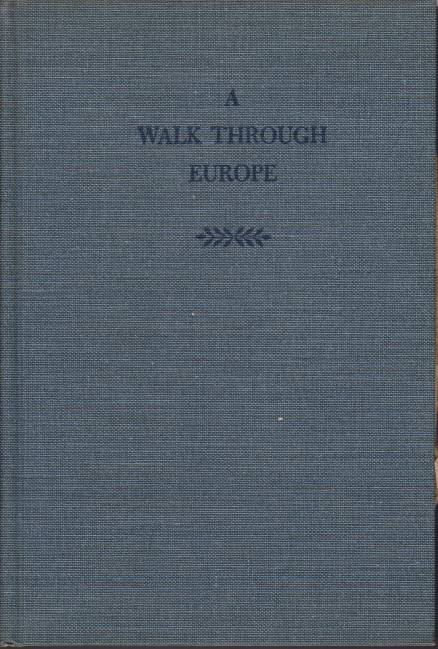 Image for A WALK THROUGH EUROPE