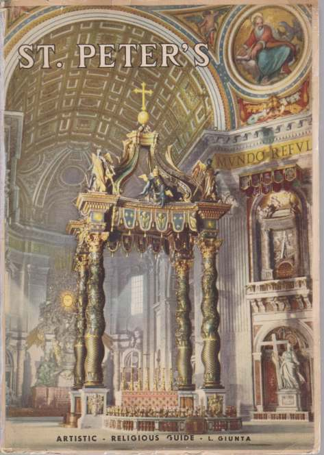 Image for ST. PETER'S Vatican City. Artistic-Religious Guide