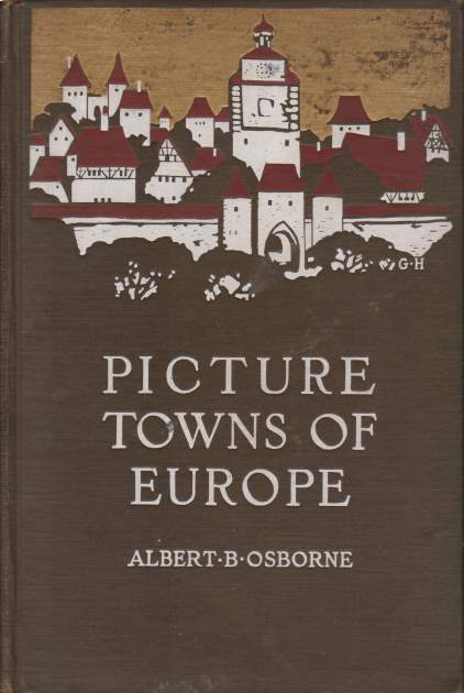 Image for PICTURE TOWNS OF EUROPE