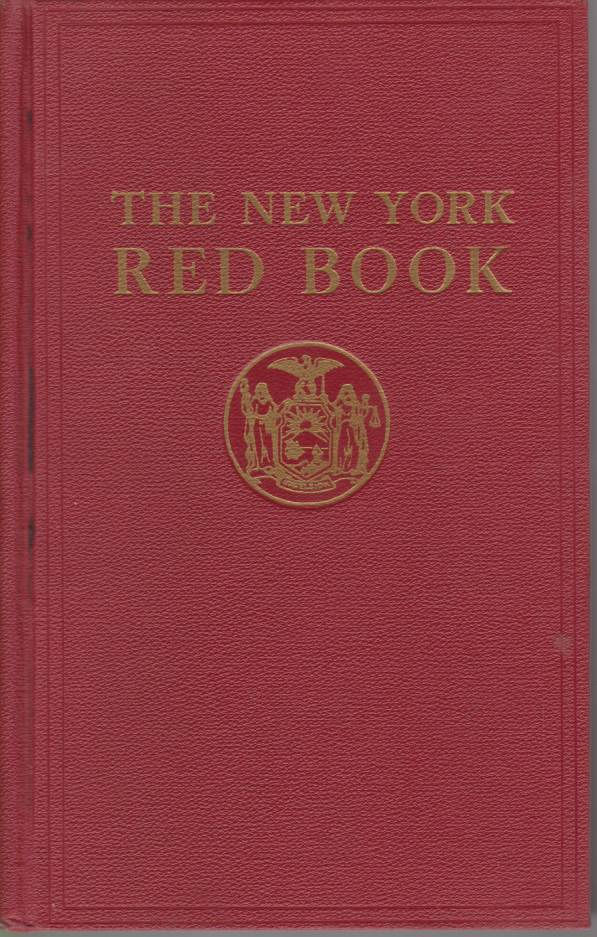 Image for THE NEW YORK RED BOOK 1954