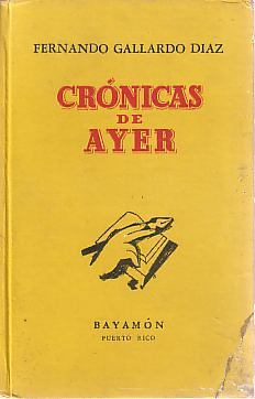 Image for CRONICAS DE AYER