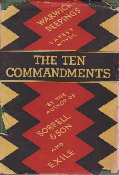 Image for THE TEN COMMANDMENTS