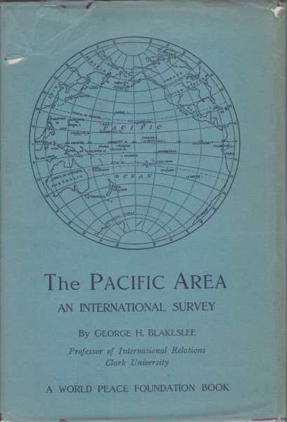 Image for THE PACIFIC AREA An International Survey