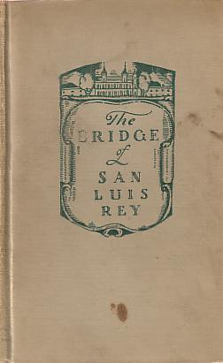Image for THE BRIDGE OF SAN LUIS REY