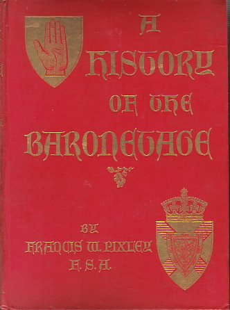 Image for A HISTORY OF THE BARONETAGE