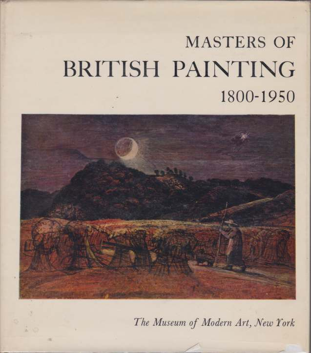 Image for MASTERS OF BRITISH PAINTING 1800-1950