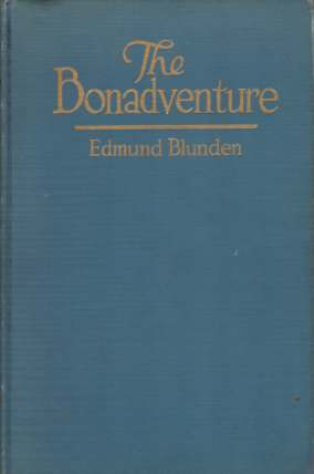Image for THE BONADVENTURE A Random Journal of an Atlantic Holiday