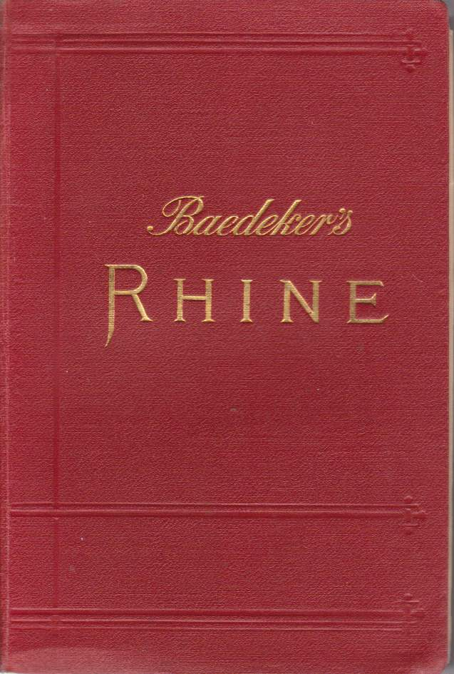 Image for THE RHINE Including the Black Forest & the Vosges. Handbook for Travellers