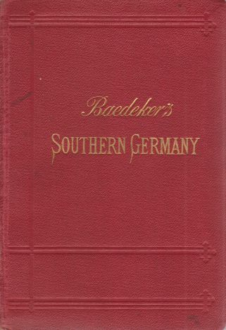 Image for SOUTHERN GERMANY Handbook for Travellers