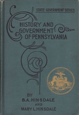 Image for HISTORY AND CIVIL GOVERNMENT OF PENNSYLVANIA